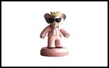 26325 $ Babolex Dior Pink Sculpture Bronze, Sculpture, Fine Art, Animals, Bronze, By vincent faudemer