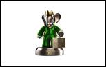 26910 $ Babolex Vuitton male Sculpture, Sculpture, Fine Art, Animals, Bronze, By vincent faudemer