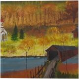 Country Roads, Land Art, Paintings, Fine Art, Landscape, Canvas, Oil, By Lana Karin Fultz