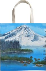 Mt Shasta, Land Art, Paintings, Fine Art, Landscape, Oil, Painting, By Lana karin Fultz