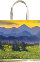 Twilight, Land Art, Fine Art, Landscape, Canvas, Oil, By Lana Karin Fultz