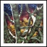 2PM - November, Paintings, Fine Art,Realism,Surrealism, Botanical,Figurative,Land Art,Landscape, Canvas,Oil,Painting, By Richard Michael Ferrugio