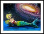 Cosmic Depth, Paintings, Expressionism, Celestial / Space, Conceptual, Acrylic, By Shaunna Marcine Perkins
