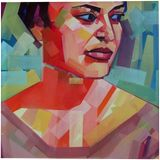 FairyBright, Paintings, Cubism, Pop Art, Figurative, Canvas, Oil, Wood, By Piotr Ryszard Kachny