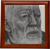 A Long Time Ago... Obie Wan drawing, Drawings / Sketch, Realism, Fantasy, Pencil, By Marty Jones