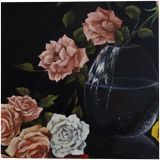 Serenity, Paintings, Photorealism, Floral, Canvas, Oil, By Anna Rita Rita Angiolelli