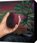 Forbidden Fruit, Paintings, Fine Art, Mythical, Nature, Religious, Acrylic, By adam santana