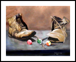 3PLUS2, Paintings, Realism, Still Life, Painting, By William Clark