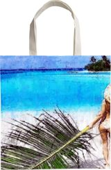 dream place,Maldives, Paintings, Fine Art, Figurative, Watercolor, By Angelo