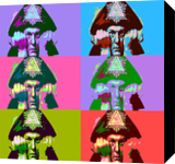 Aleister Crowley Pop Art, Digital Art / Computer Art, Pop Art, Portrait, Digital, By Matthew Lacey