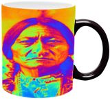 Sitting Bull, Digital Art / Computer Art, Romanticism, Figurative, Digital, By Matthew Lacey