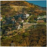 Taganga Town Landscape, Colombia, Photography, Realism, Landscape, Photography: Photographic Print, By Daniel Ferreira Leites