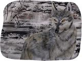 Spirit Animal  #Wolf, Paintings, Fine Art, Animals, Acrylic, By SIRJE SIRITA SOMELAR