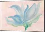 Dancing Lily, Paintings, Expressionism, Botanical, Watercolor, By Sherry S. Robinson