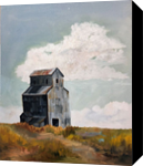 Harvest Memories, Paintings, Realism, Landscape, Oil, By Sherry S. Robinson