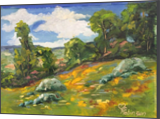 Meadow Hillside, Paintings, Realism, Landscape, Oil, By Sherry S. Robinson