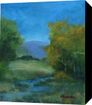 Still Waters, Paintings, Realism, Landscape, Oil, By Sherry S. Robinson