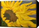 Sunflowers, Paintings, Realism, Botanical, Oil, By Sherry S. Robinson