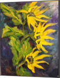 Triplettes, Paintings, Realism, Botanical, Oil, By Sherry S. Robinson
