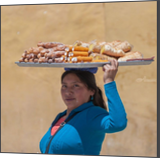 Pastry seller, Photography, Existentialism, Expressionism, Fine Art, Impressionism, Minimalism, Modernism, Realism, Romanticism, Composition, Daily Life, Documentary, Figurative, People, Portrait, Window on the World, Photography: Photographic Print, Photography: Premium Print, Photography: Stretched Canvas Print, By Christopher William Adach