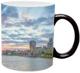 Sunrise over City, Photography, Expressionism, Impressionism, Photorealism, Realism, Romanticism, Architecture, Cityscape, Composition, Documentary, Historical, Landscape, Photography: Photographic Print, Photography: Premium Print, Photography: Stretched Canvas Print, By Christopher William Adach
