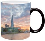 Sunset over Shard, Photography, Expressionism, Impressionism, Photorealism, Realism, Romanticism, Architecture, Cityscape, Composition, Documentary, Fantasy, Historical, Inspirational, Landscape, Multicultural / Ethnic, Nature, Photography: Photographic Print, Photography: Premium Print, Photography: Stretched Canvas Print, By Christopher William Adach