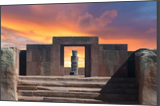 Tiwanaku, Photography, Existentialism, Expressionism, Impressionism, Photorealism, Primitive, Realism, Romanticism, Architecture, Documentary, Environmental art, Historical, Multicultural / Ethnic, Mythical, Window on the World, Photography: Photographic Print, Photography: Premium Print, Photography: Stretched Canvas Print, By Christopher William Adach