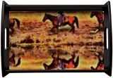 The Horsemen, Digital Art / Computer Art, Abstract, Expressionism, Animals, Architecture, Photography: Metal Print, Photography: Photographic Print, Photography: Stretched Canvas Print, By Gaurav Garg