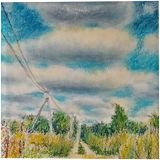 Steppe road, Drawings / Sketch, Impressionism, Landscape, Pastel, By Tetyana K