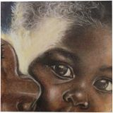 I love mom!, Paintings, Fine Art, Conceptual, Pastel, By James Calvin Barnes