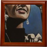 Lady sing the Blues!, Paintings, Fine Art, Conceptual, Acrylic, By James Calvin Barnes