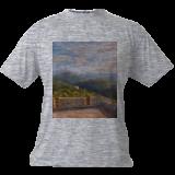 673. Fort Dugommier & les deux tours, Paintings, Fine Art, Landscape, Oil, By TED HISCOCK