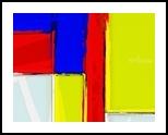 80's Mondrian Feeling, Digital Art / Computer Art, Minimalism, Analytical art, Digital, By Henry Lizarraga