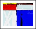 80's Mondrian Sensation, Digital Art / Computer Art, Abstract,Minimalism, Analytical art,Decorative, Digital, By Henry Lizarraga
