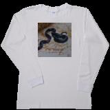 93f08f0337ed ... Men s Vapor Apparel Long Sleeve - White Snake in 3D  ...