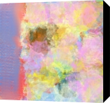 Abstract Floral in Pastel, Decorative Arts,Digital Art / Computer Art,Paintings, Abstract,Impressionism, Botanical,Decorative,Nature, Digital, By Jessica Hughes