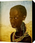African star, Paintings, Realism, Portrait, Oil, By Svetlana Vorobyeva