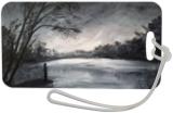Alone, Paintings, Fine Art,Symbolism, Figurative,Landscape,Nature,Spiritual, Oil,Wood, By Angela Suto