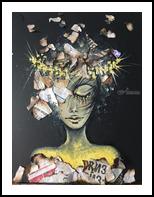 Awaiking up, Paintings, Expressionism,Surrealism, Decorative,Figurative,People, Canvas, By Iryna Abramova