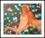 Beautiful world.., Paintings, Abstract, Erotic, Canvas, By ZAKIR AHMEDOV