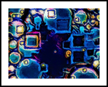 Blue Square Dreams, Decorative Arts,Digital Art / Computer Art, Abstract,Minimalism,Modernism, Decorative, Digital, By Henry Lizarraga
