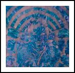 Blueprint, Paintings, Abstract,Expressionism,Hallucinogens, Avant-Garde,Fantasy, Acrylic,Oil, By Sana Verba