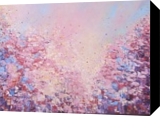 CALM SUMMER, Paintings, Abstract, Floral, Oil, By Therese OKeeffe