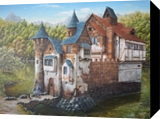 Castle, sweet castle. Nikolay Velikiy 2017, Paintings, Realism, Architecture,Fantasy,Landscape, Canvas,Oil, By Nikolay Velikiy