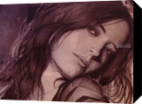 Eva Green, Drawings / Sketch,Graphic,Paintings, Photorealism,Realism,Romanticism, People,Portrait, Painting, By Oleg Kozelskiy