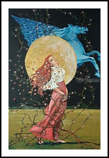 FREEDOM, Paintings, Romanticism, Fantasy, Acrylic,Canvas, By Giancarlo Pesci