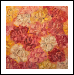 Flowers in the sun, Paintings, Abstract, Avant-Garde,Floral, Oil, By Sana Verba