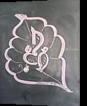 GaneshaArt, Chalk, Abstract, Conceptual, Painting, By Naveen Kumar