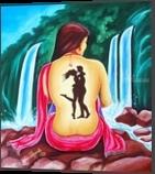 LOVE and INTIMATE, Decorative Arts, Performance Art, Figurative, Canvas, By RAGUNATH VENKATRAMAN