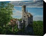 Lichtenstein castle. Nikolay Velikiy 2017, Paintings, Realism, Architecture,Fantasy,Landscape, Canvas,Oil, By Nikolay Velikiy